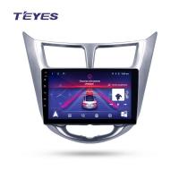 Штатная магнитола Hyundai Solaris 2010-2016 Teyes SPRO Wi-Fi, 4G, Android 8.1 2/32 9 дюймов + камера