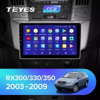 Штатная магнитола Teyes Lexus RX330/350 2003-2009 CC2 Wi-Fi, 4G, Android 8.1 4/64 9 дюймов
