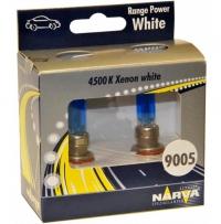 Автолампа NARVA 2*HB3/9005 12V 60W Range Power White (48625RPW)