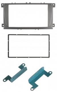 Переходная рамка Ford Focus 2 (Sony), S-Max.2007+.mondeo 2007+ 2din металл крепления черный