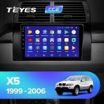 Штатная магнитола Teyes BMW X5 E53 CC2 Wi-Fi, 4G, Android 8.1 4/64 9 дюймов