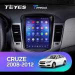 А/м штатный Chevrolet Cruze 2008-2012 Teyes CC2 Wi-Fi, 4G, Android 8.1 2/32 10 дюймов + камера