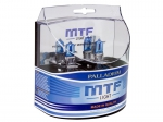 Автолампа MTF H3 12v 55w  Palladium