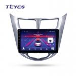 А/м штатный Hyundai Solaris 2006-2016 Teyes SPRO Wi-Fi, 4G, Android 8.1 2/32 9 дюймов + камера
