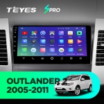 Штатная магнитола Teyes Mitsubishi Outlander XL 2005-2011 CC2 Wi-Fi, 4G, Android 8.1 2/32 9 дюймов