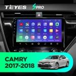 Штатная магнитола Teyes Toyota Camry 70 CC2 Wi-Fi, 4G, Android 8.1 2/32 10 дюймов