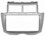 Переходная рамка Toyota Vitz 2005- Wide с боковинами 2din серая