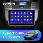 А/м штатный Lexus RX330/350 2003-2009 Teyes CC2 Wi-Fi, 4G, Android 8.1 2/32 9 дюймов