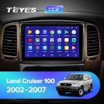 А/м штатный Teyes Toyota Land Crusier 100 CC2L Wi-Fi, 4G, Android 8.1 2/32 10.2 дюймов
