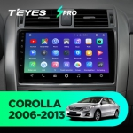 Штатная магнитола Teyes Toyota Corolla 150 2006-2013 SPRO Wi-Fi, 4G, Android 8.1 2/32 9 дюймов