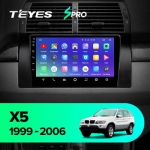 А/м штатный Teyes BMW X5 E53 SPRO Wi-Fi, 4G, Android 8.1 2/32 9 дюймов + камера
