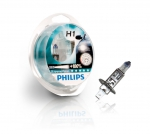 Автолампа PHILIPS H1 12V 55W P14,5s X-treme Vision +100% (12258XV), EUROBOX-2шт