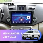 А/м штатный Toyota Highlander 2007-2013 Teyes CC2 Wi-Fi, 4G, Android 8.1 2/32 10 дюймов