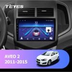 Штатная магнитола Teyes Chevrolet Aveo 2 2011-2015 CC2L Wi-Fi,Android 8.1 2/32 9 дюймов