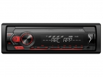 А/м Pioneer MVH S120 UB (Красный)