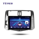 А/м штатный Toyota Prado 150 2009-2013 Teyes SPRO Wi-Fi, 4G, Android 8.1 4/64 9 дюймов + камера