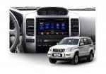 Штатная магнитола Teyes Toyota Prado 120 SPRO Wi-Fi, 4G, Android 8.1 4/64 9 дюймов + камера