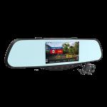 Видеорегистратор+радар-детектор в зеркале с камерой заднего хода Intego VX 685MR